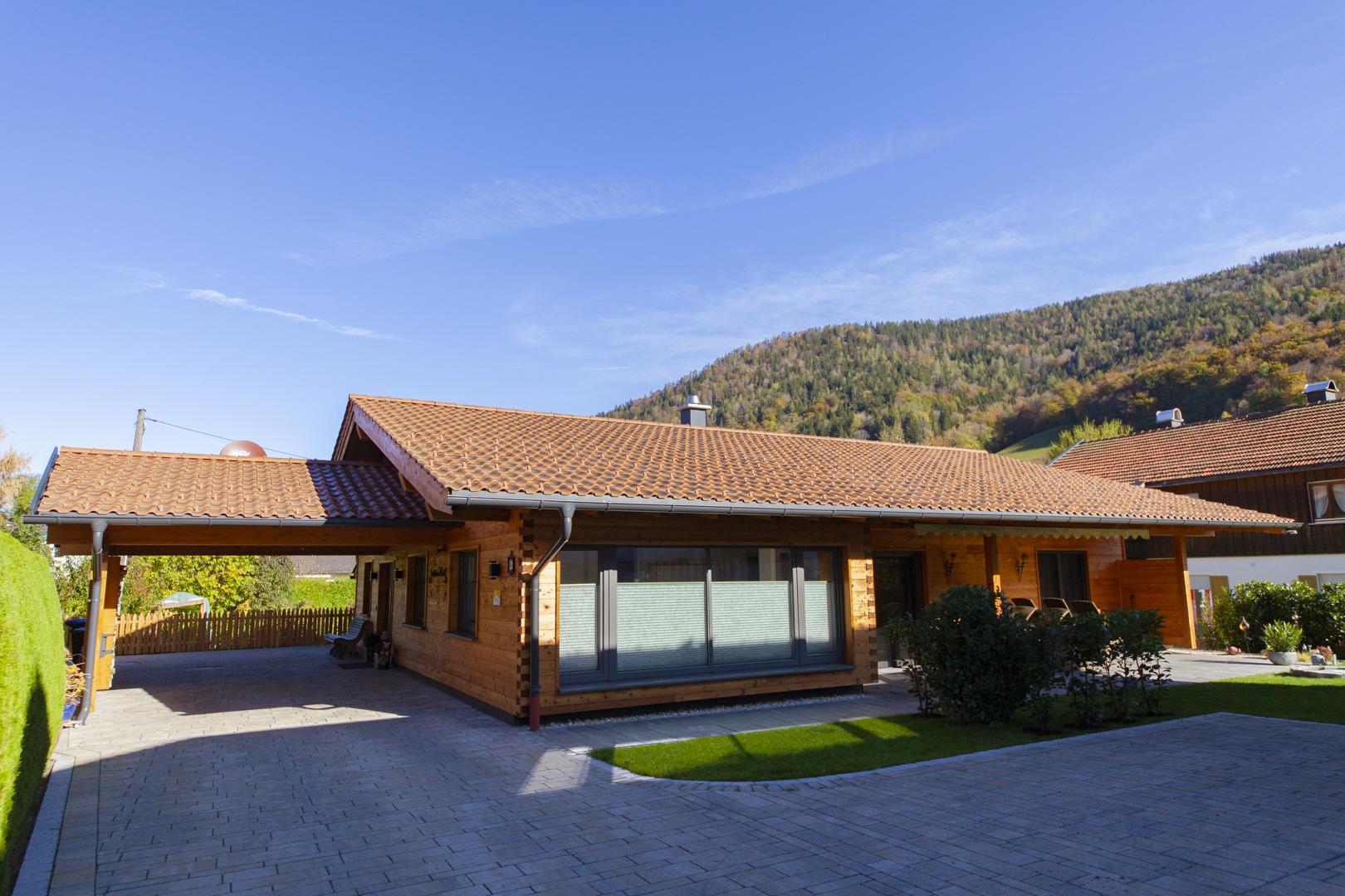 Kendler Holzhaus - Ferienwohnung Ruhpolding