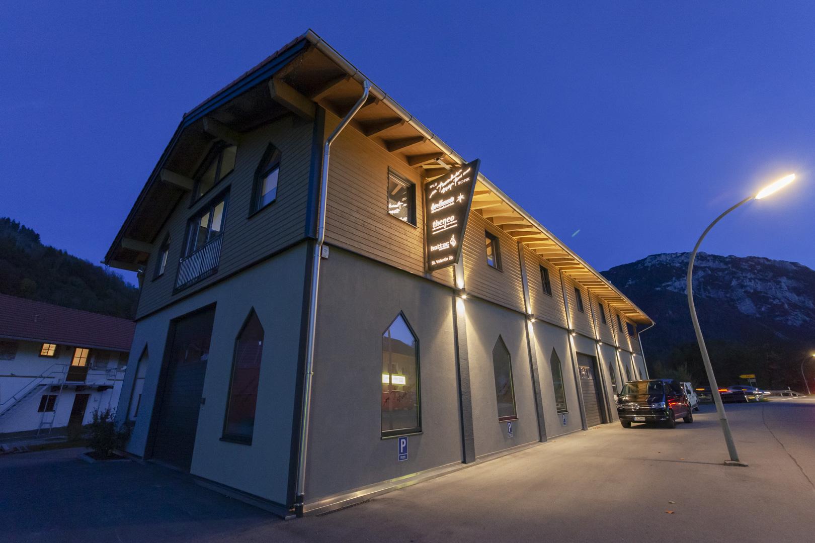 Galerie Gewerbebauten - Praxenthaler Ruhpolding 1