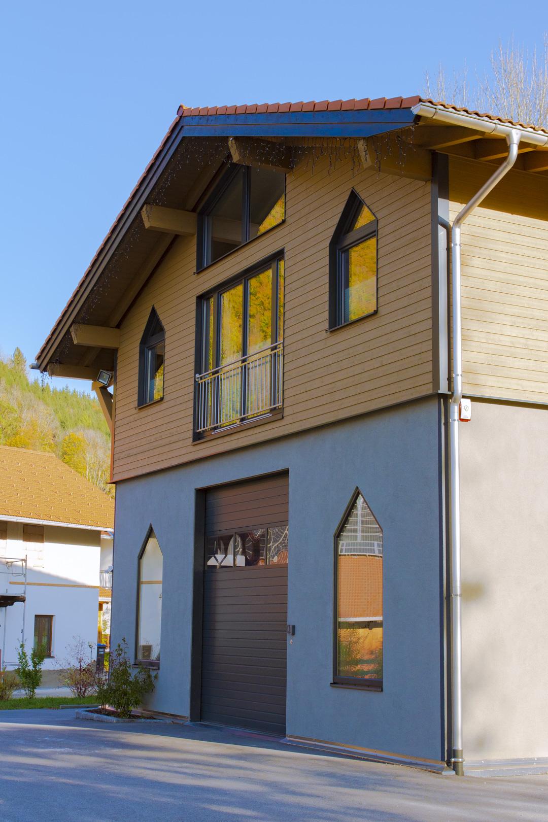 Kendler Holzhaus gewerblich Ruhpolding
