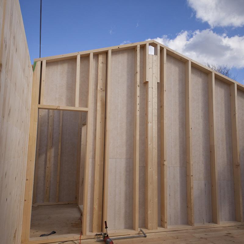 Holzständerhaus - Büro Holzbau Kendler