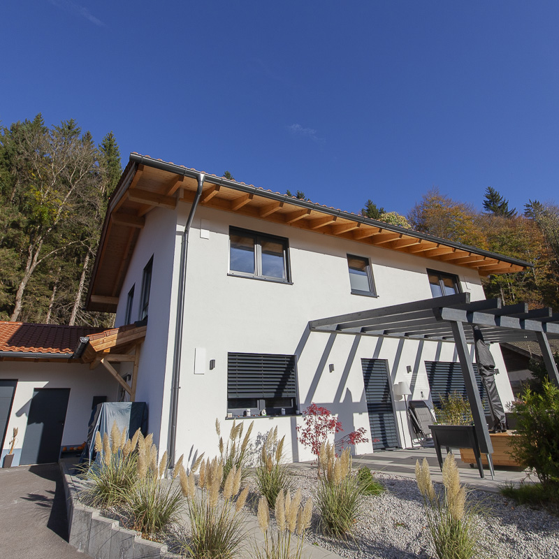 Holzständerhaus - Holzbau Kendler