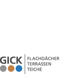 Logo Partner - GICK Flachdächer, Terrassen, Teiche