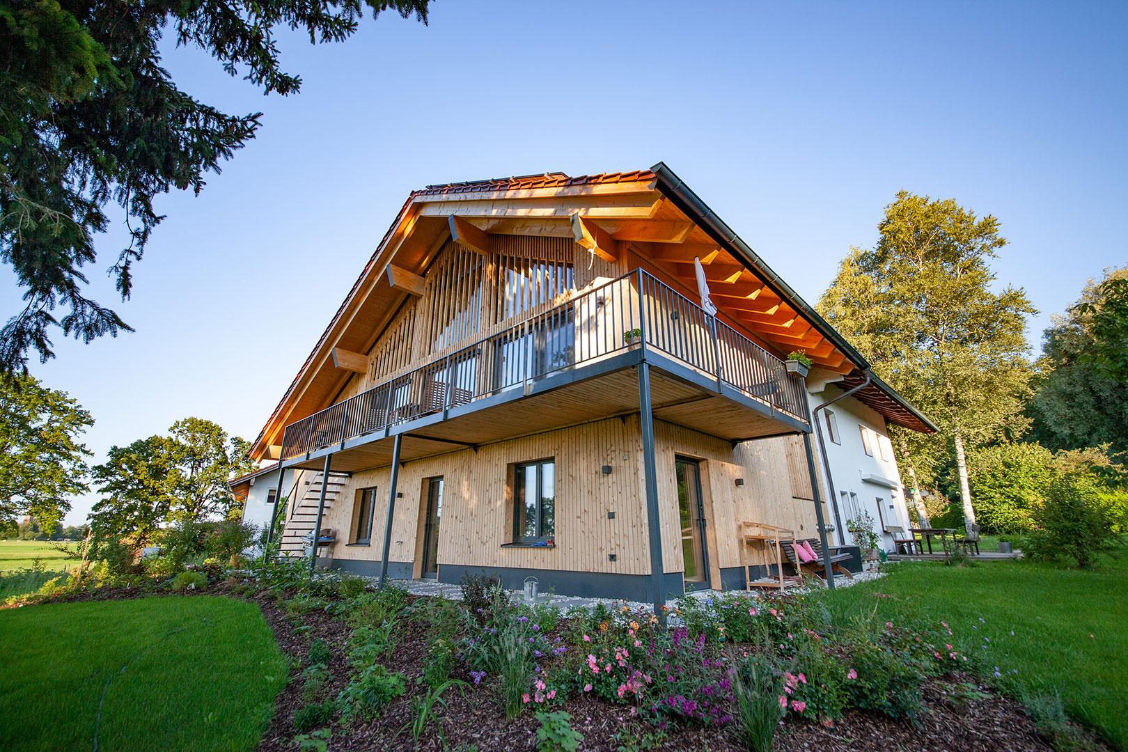 Kendler Holzhaus Übersee